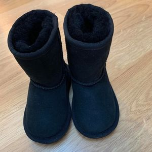 NEW UGG 6 Baby Toddler Unisex Black Classic Boots